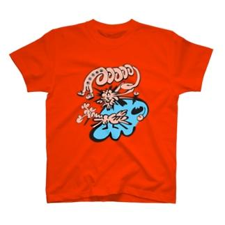 DHKN10 burst T-shirts