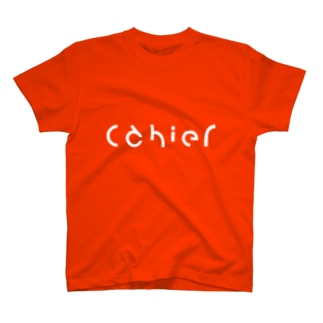 cahier orange T-shirts