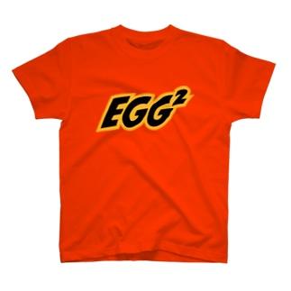 """California Orange"" EGG² Logo T-shirts T-Shirt"