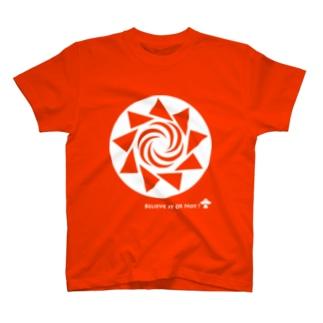 ミステリーサークル08(ホワイトver) T-shirts