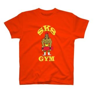 SK8 GYM スケートジム T-shirts
