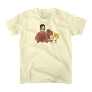 はるみん&くまさん Tシャツ