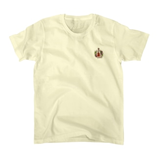 アコギ(ぶどうまみれ) Tシャツ