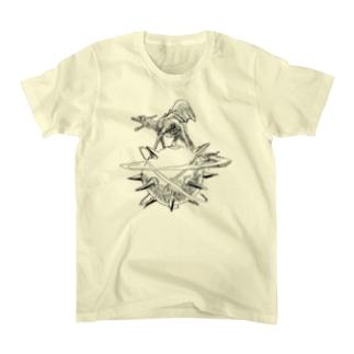 ヤノベケンジ《ザ・スター・アンガー》 Tシャツ