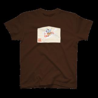朱留のやぶさめワンTシャツ