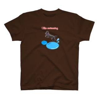 swimming girl Tシャツ
