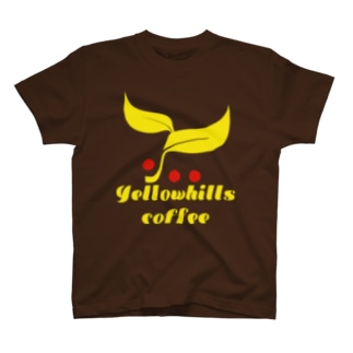 yellowhills coffee leef-y Tシャツ