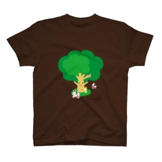 TOMONIの木(カラー) Tシャツ