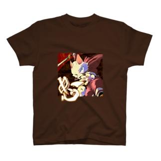 忠犬シロガネ号 Tシャツ
