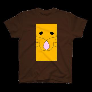 ライオンの顔 Tシャツ