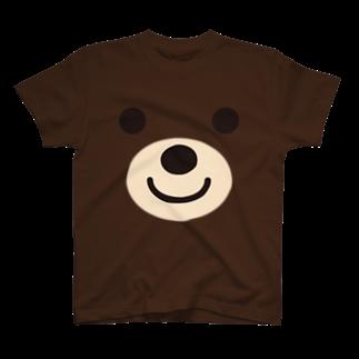 フォーヴァのベアー-animal up-アニマルアップ- Tシャツ