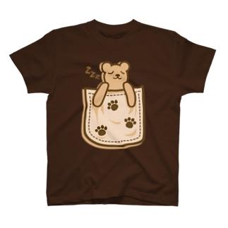 Bear_in_the_Pocket Tシャツ