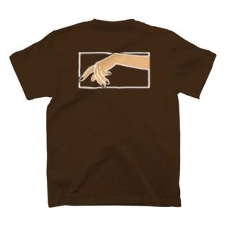 つめのいろ(バックプリント) T-shirts