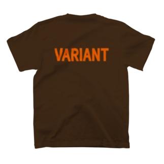 変異体 ロゴのみ T-shirts