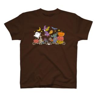 jun watanabeのHalloween_Witch T-shirts