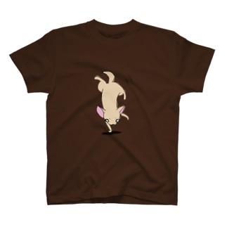 さかだちわわ T-shirts