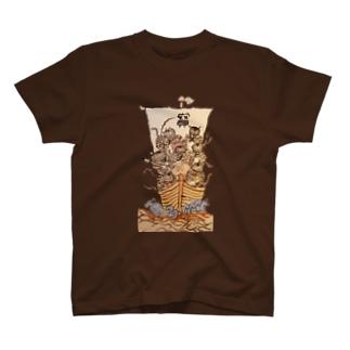 七福虎!! T-shirts