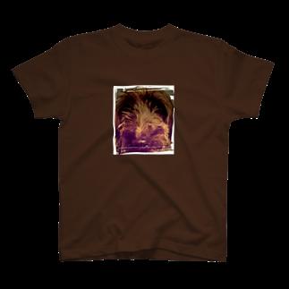 悪夢的道化師のDog Up to Face T-shirts
