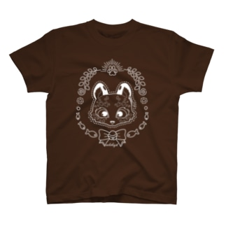 ユキヒョウの雪猫 T-shirts