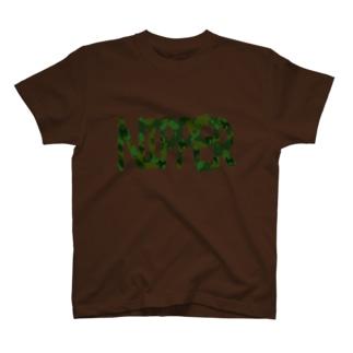 迷彩DOG NIPPER T-shirts