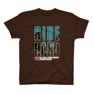 G-NET OFFICIAL GOODS RIDE HARD START 濃い色用 T-shirts