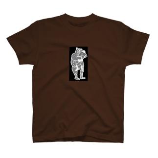 マルティの伝説ブラック T-shirts