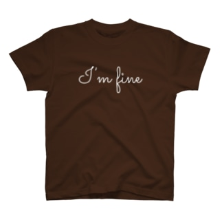 I'm fine T-shirts