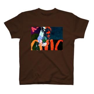 Liberオリジナルロック T-shirts