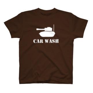 洗車と洗車を間違えた T-shirts
