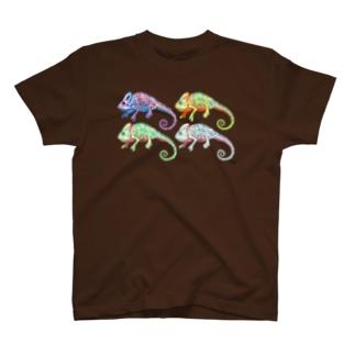 4ひきのエボシカメレオン T-Shirt