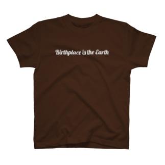 出身地はアース-B(WH) T-shirts