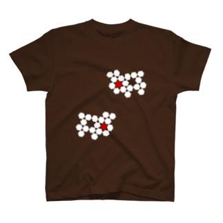 Inorganic No.2 wh T-shirts