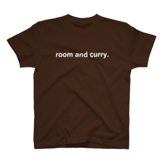 room and curry. white T-shirts