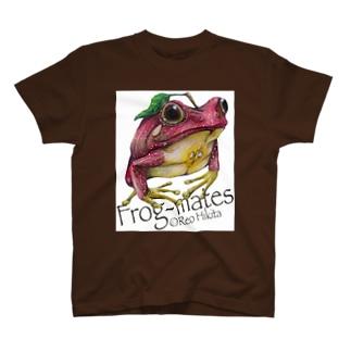 カエルメイトより「リンゴガエル」 T-shirts