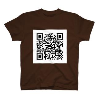 QRコードを着よう(nazoq.com) T-shirts