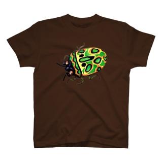 ガスマスクカメムシ T-shirts