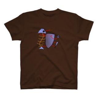 魚プラモ T-shirts