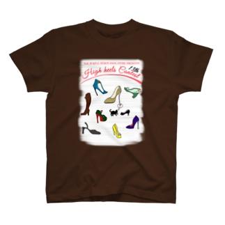 ハイヒール コンテスト High heel Contest T-shirts