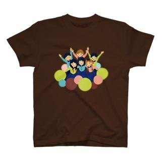 藍♡ふれんず T-shirts