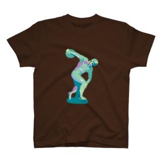 manaBeeのミュロンの円盤投げ T-Shirt