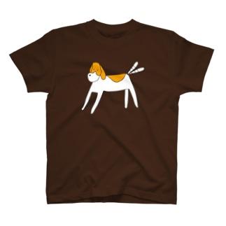 シンプルドッグ T-shirts