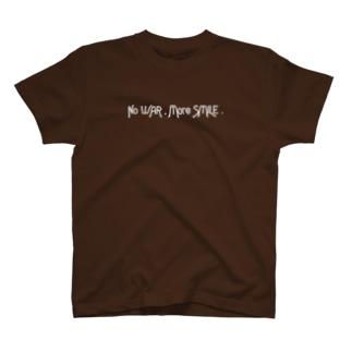 NoWAR,MoreSMILE. T-shirts