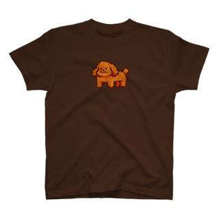 どうぶつのトイプードル T-shirts
