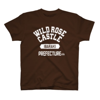 茨城県 WILD ROSE CASTLE T-shirts