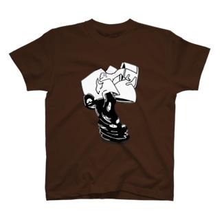 (ミ)  レコード T-shirts