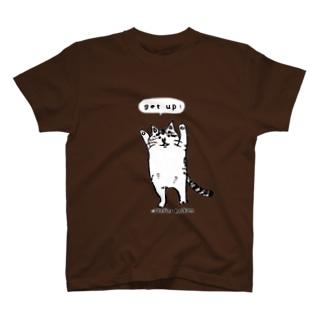 たちあがるねこ T-shirts