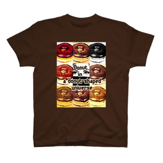 Donut in a donut-shaped universe T-shirts