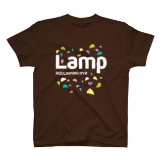 Lampちゃん白ロゴ T-shirts