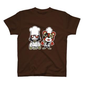 ゾンビのコックさん T-shirts