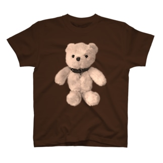 Choker Teddy-sepia T-shirts
